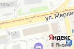 Схема проезда до компании АлБиСтрой в Бийске