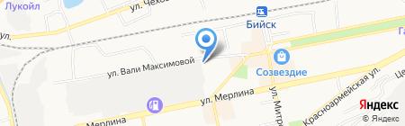 Алтаймолпром на карте Бийска