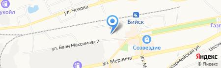 ДжонВит на карте Бийска