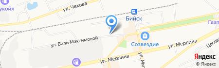 Федеральный центр благоустройства и обращения с отходами на карте Бийска