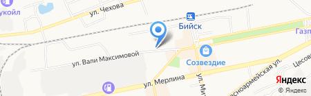 Зап-СибТранстелеком на карте Бийска