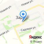 Почтовое отделение на карте Бийска