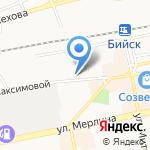 РЕСО-МЕД на карте Бийска