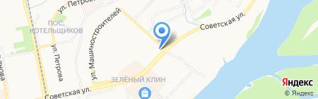 ФАТО на карте Бийска