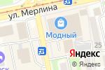 Схема проезда до компании Банкомат, КБ Агропромкредит в Бийске