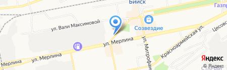 Артика на карте Бийска