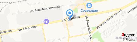 Елена на карте Бийска