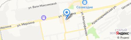 Бийскодежда на карте Бийска