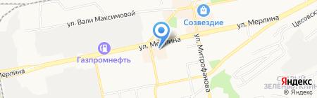 Алтай Двери на карте Бийска