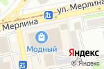 Схема проезда до компании Магазин мужской одежды в Бийске