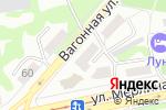 Схема проезда до компании Дочки-сыночки в Бийске