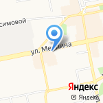 ПКЦ Лютна на карте Бийска