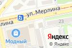Схема проезда до компании Нагорный территориальный отдел Администрации г. Бийска в Бийске