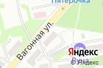 Схема проезда до компании Кроха в Бийске