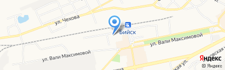 Федеральный центр гигиены и эпидемиологии по железнодорожному транспорту на карте Бийска