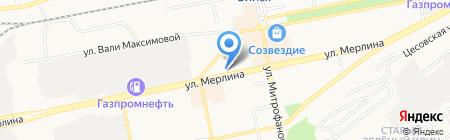 Леди-сервис на карте Бийска