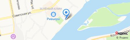 Летняя терраса на карте Бийска