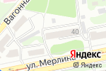 Схема проезда до компании Центр Бизнеса в Бийске