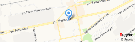 КРАСОТА И ЗДОРОВЬЕ на карте Бийска