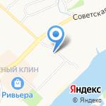 Хозяйственный магазин на карте Бийска