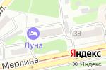 Схема проезда до компании Стиль в Бийске