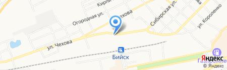 Продукты на карте Бийска