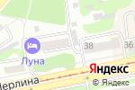 Схема проезда до компании Салон ритуальных услуг в Бийске