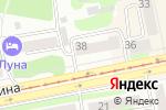 Схема проезда до компании Аладдин в Бийске