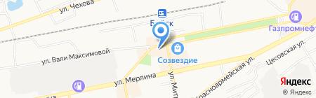 Магазин обуви на карте Бийска