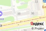 Схема проезда до компании Деметра в Бийске