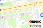 Схема проезда до компании Акцент в Бийске