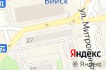 Схема проезда до компании Одежда для окон в Бийске