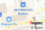 Схема проезда до компании Сковородовна в Бийске
