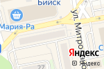 Схема проезда до компании Фаст Финанс в Бийске