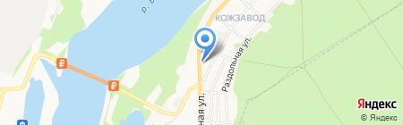 Авто-Сиб на карте Бийска
