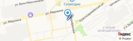 Ява на карте Бийска