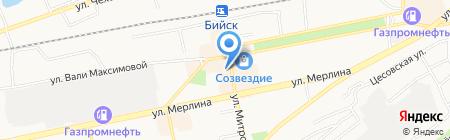Магазин готовых салатов на карте Бийска