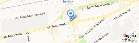 Стайлинг на карте Бийска