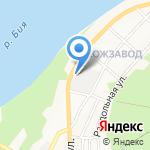 Алтайснэк на карте Бийска