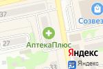 Схема проезда до компании Деньга в Бийске