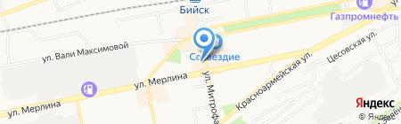 Партнер на карте Бийска