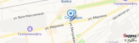 Книги на Митрофанова на карте Бийска