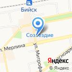Кондитерский магазин на карте Бийска