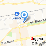 Магазин отделочных материалов на карте Бийска