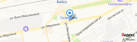 Магазин электроинструмента на карте Бийска