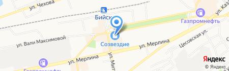 НОВЭКС на карте Бийска