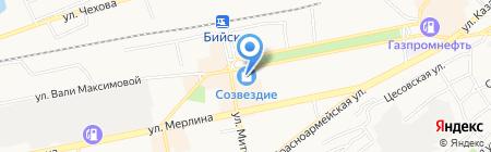 Банкомат МДМ Банк на карте Бийска