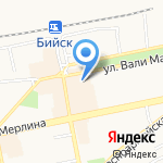 Алтайский ювелирный завод им. Демидова А.Н. на карте Бийска