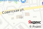 Схема проезда до компании Соломонов в Бийске