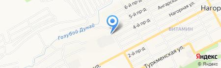 АСМ-Мебель на карте Бийска